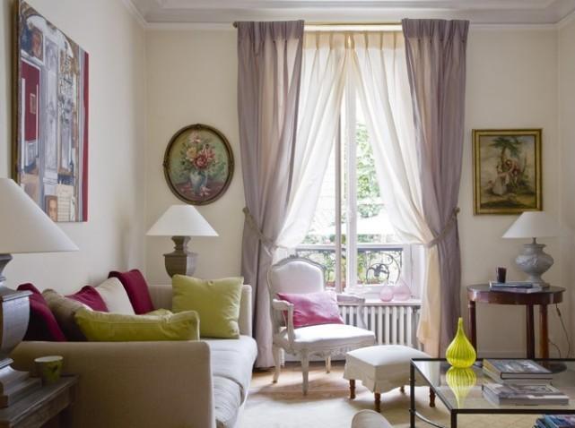 décoration rideaux salon