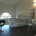 décoration salon avec mezzanine