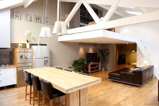 Fabuleux décoration salon avec mezzanine YG13
