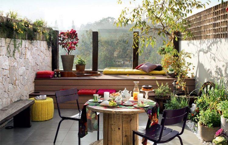 Organisation Deco Balcon Moderne
