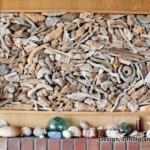 déco murale en bois flotté
