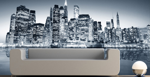 D co murale new york for Decoration murale geante new york