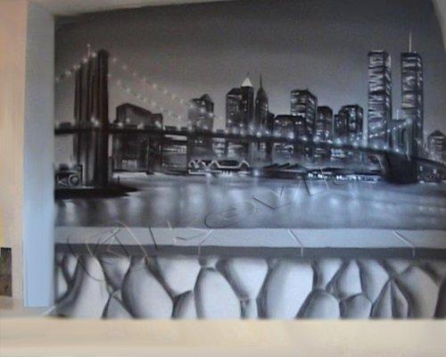 déco murale new york