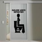 déco murale toilettes