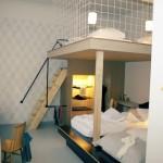 décoration chambre avec lit mezzanine
