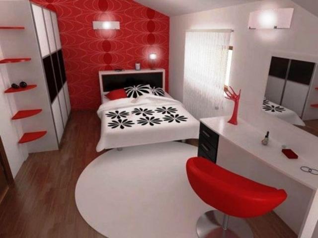 Best Chambre Rouge Blanc Et Gris Ideas - Design Trends 2017 ...