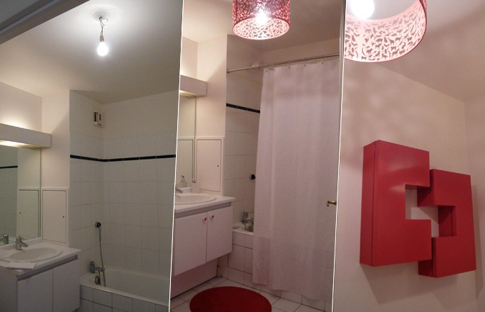 D co d 39 une petite salle de bain - Organisation salle de bain ...